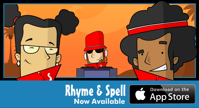 Rhyme & Spell, Now Available!